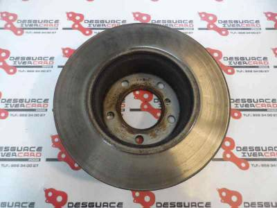 DISCO FRENO DELANTERO  BMW SERIE 1 BERLINA (E81/E87)  2005 1.6 16V CAT